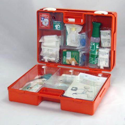 Lekárnička Prvá Pomoc S Náplňou ELEKTRO (Nastená A Prenosná)