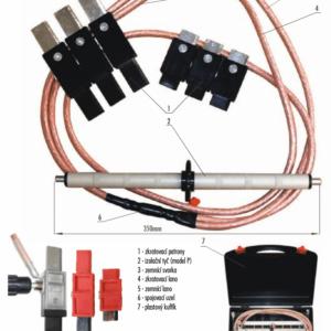 Skratovacej súprava NN 1 kV - pre poistkové vývody | TYP 801.001-P