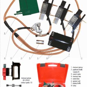 Skratovacej súprava NN 1 kV - pre poistkové vývody | Typ 801.001-H