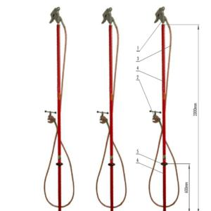 Skratovacej súprava VVN 123 kV - pre priemer vodiča 0 - 55 mm | Typ 812.123-10