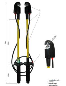 Prepojovacie súprava NN 1 kV   Typ 803.001
