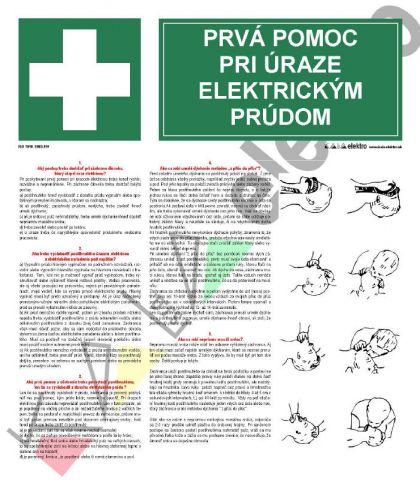 E003.191: Prvá pomoc pri úraze elektrickým prúdom